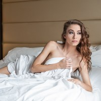 White Sheets Session with Morgan