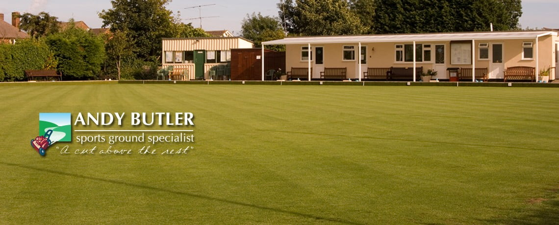 Bowling greens maintenance from Andy Butler Sports Ground Specialist