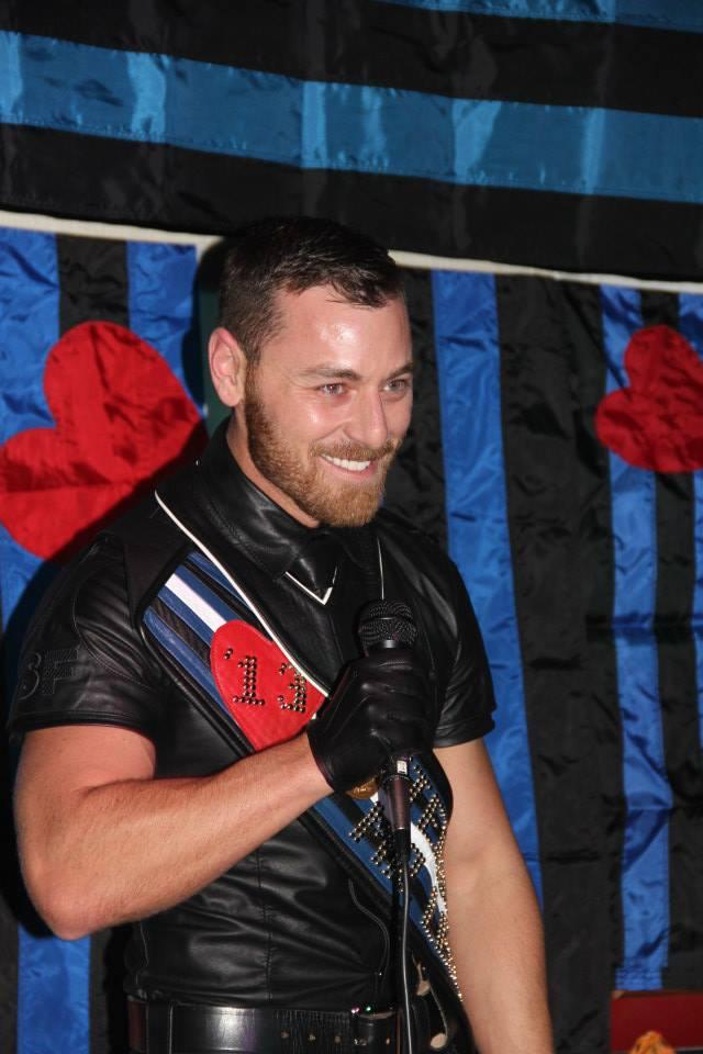 Andy Cross IML International Mr Leather IML 2013