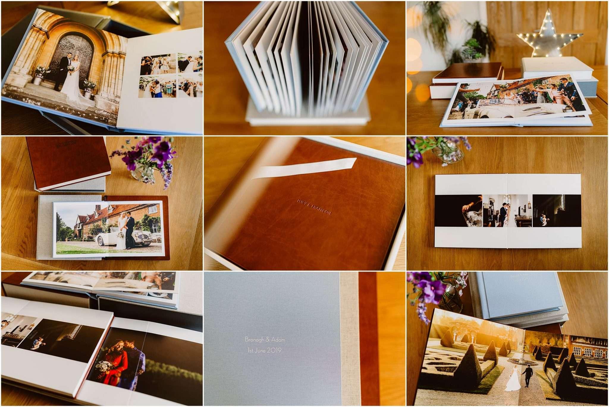 Norfolk Wedding Photographer Wedding Albums