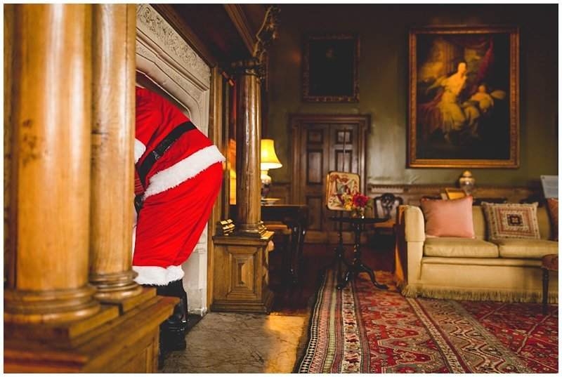 FATHER CHRISTMAS AT BLICKLING HALL - NORFOLK EVENT PHOTOGRAPHER