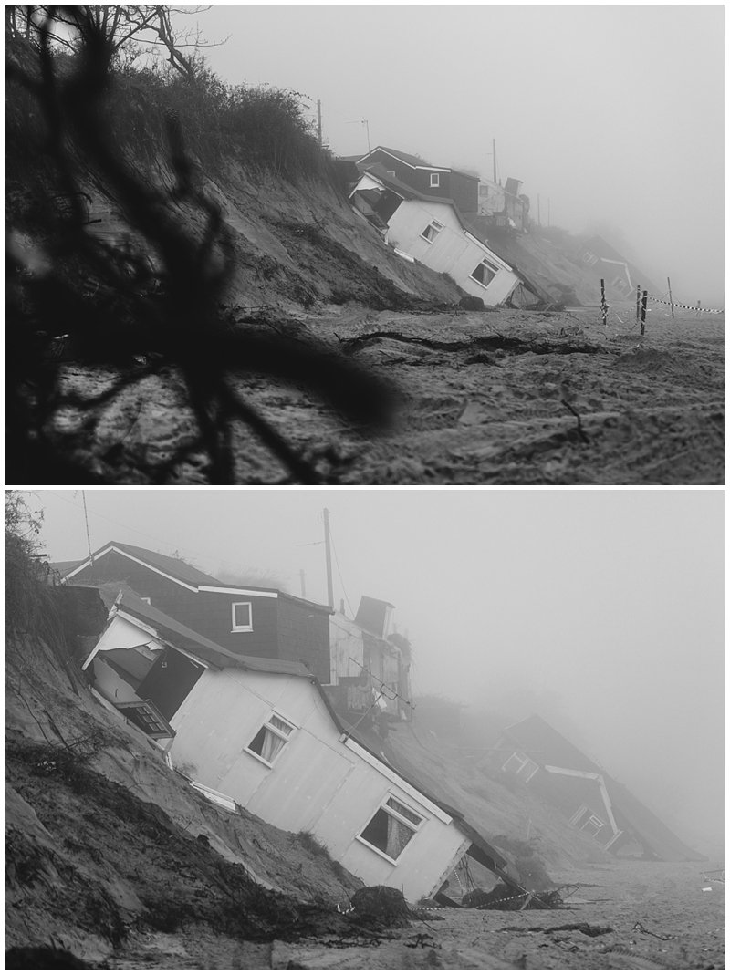 Hemsby Storm Damage Photograph