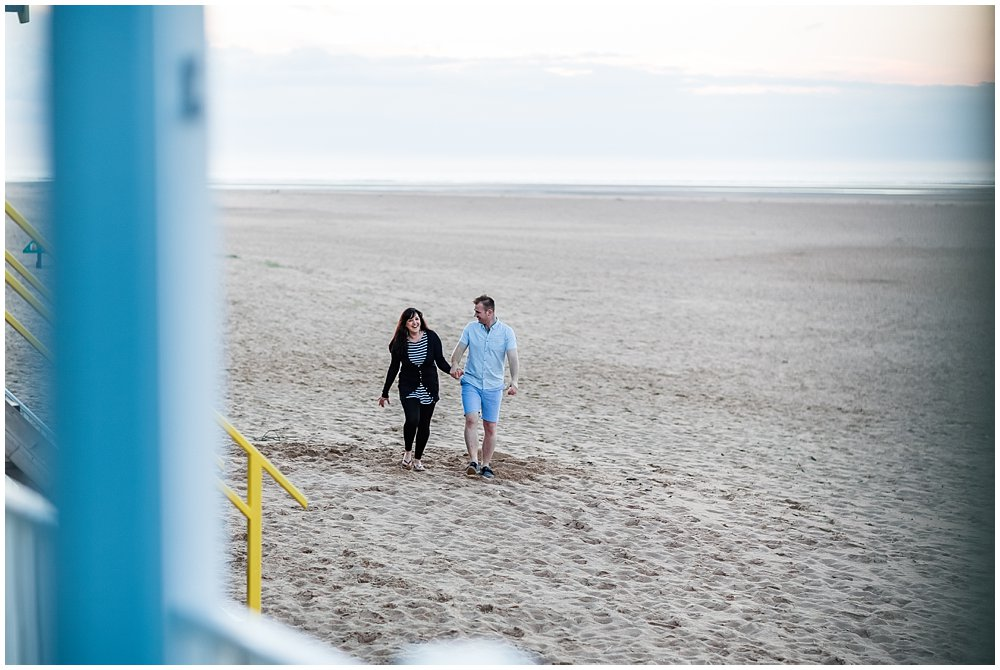Nicola and Chris Engagement Shoot in Wells-next-the-Sea - North Norfolk Wedding Photographer