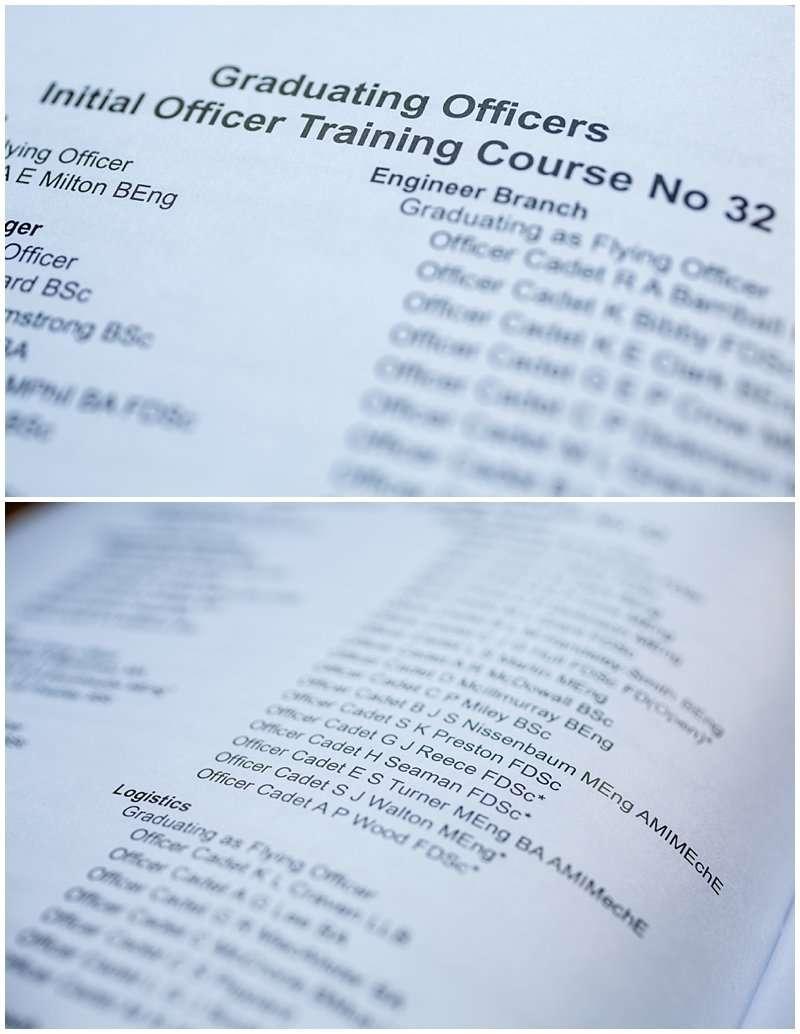 RAF Cranwell Initial Officer Training Graduation Ceremony - Norfolk Event Photographer_0843