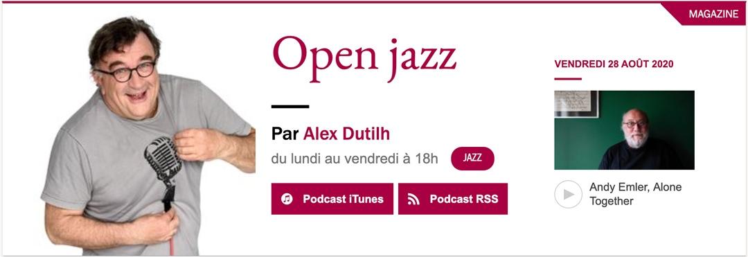 No Solo Alex Dutilh Open Jazz