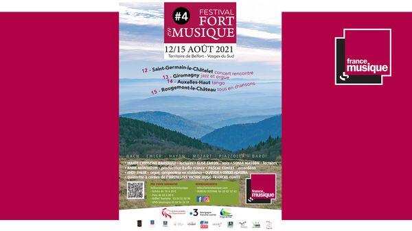 Festival Fort en Musique du 12 au 15 août 2021 (dans France Musique)