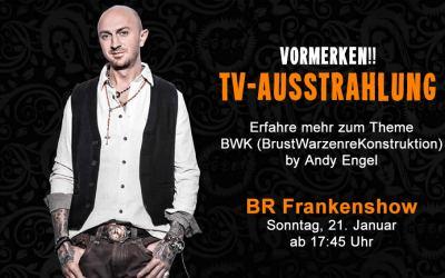 ACHTUNG VORMERKEN!! – Andy Engel Tattoo im Bayrischen Fernsehen