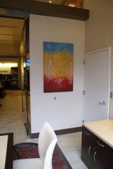 Commissioned paintings for bank - Andy Hahn Art