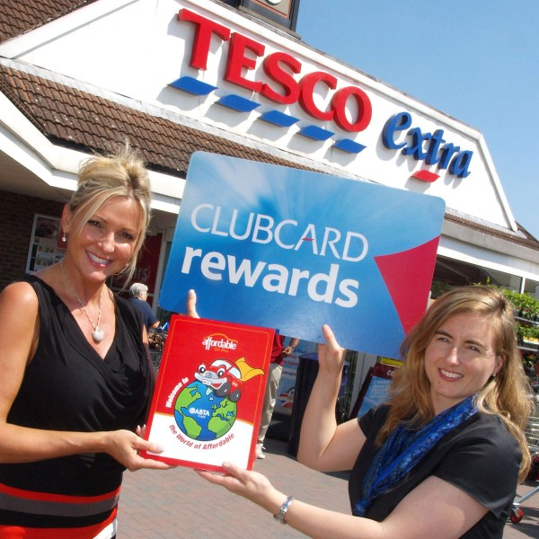 Tesco Clubcard rewards at Tesco Extra. Corporate commission. © Copyright 2014 Andy Huntley photography