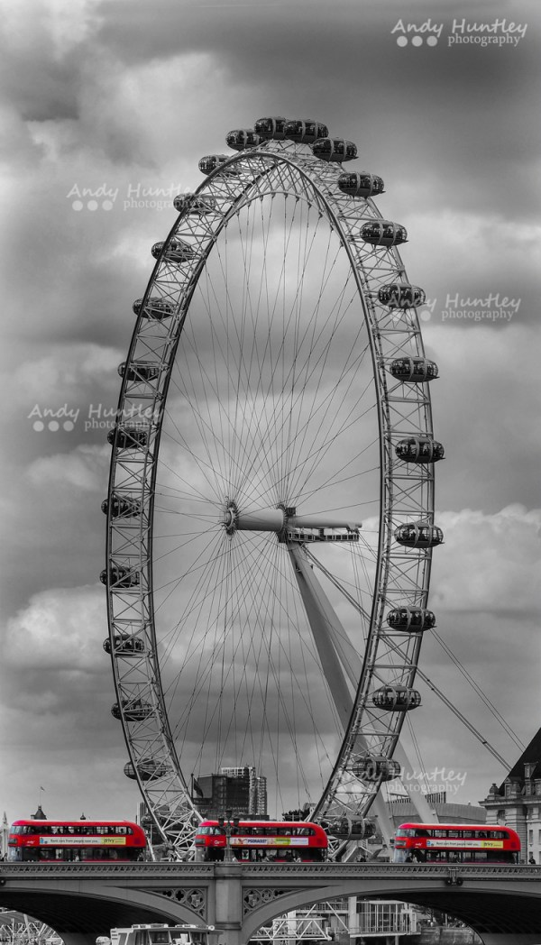 London Eye & Buses