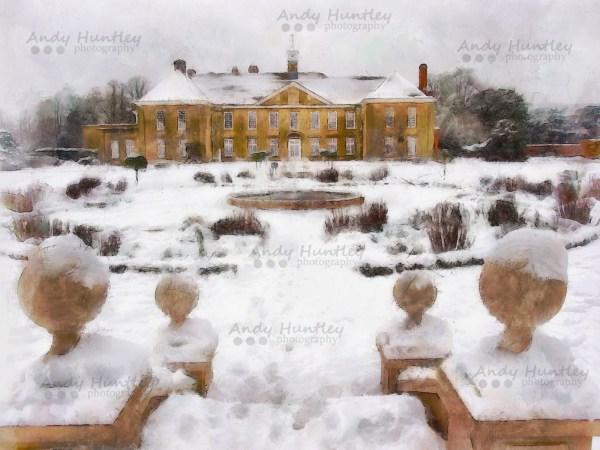 Reigate Priory in Winter