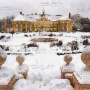Reigate Priory in Winter