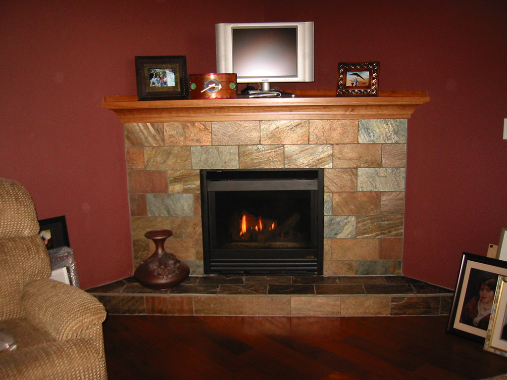 slatefireplace  Home Construction  Remodel Vancouver WA