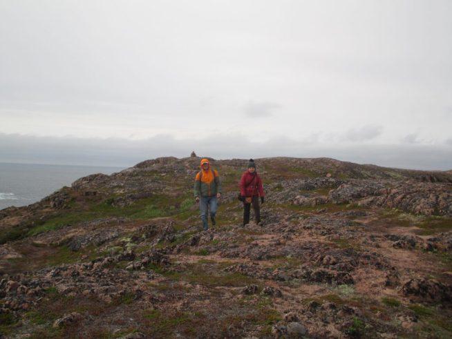 Покоряем териберские горы