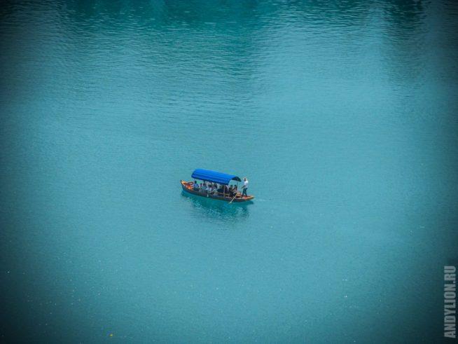 Озеро Блед и лодка