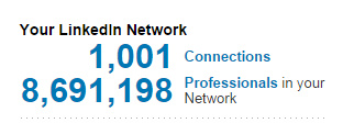 "A Thousand LinkedIn ""Connections"": what should we really call it?"
