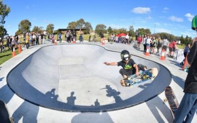 Port Kennedy Skate Park Opened