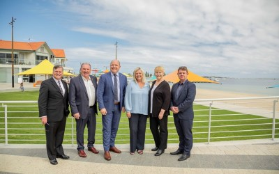 Revitalised Foreshore Officially Open