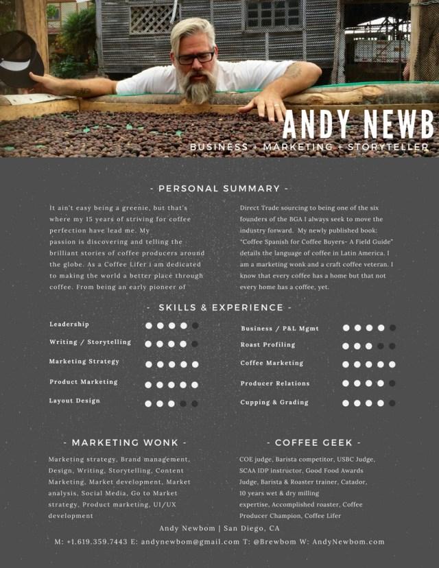 andy Newbom resume