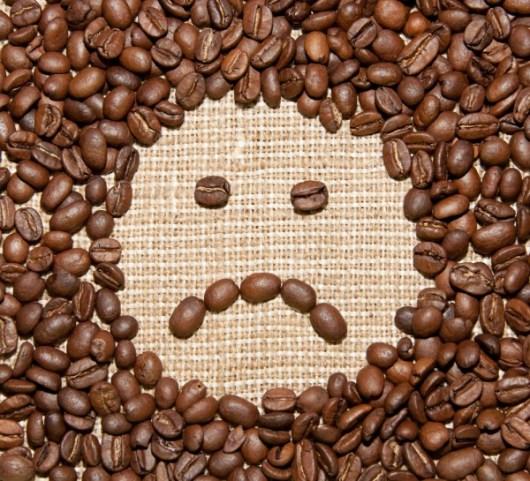 sad coffee face