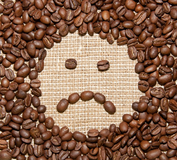 sad coffee face