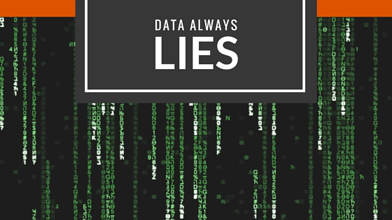 data always lies