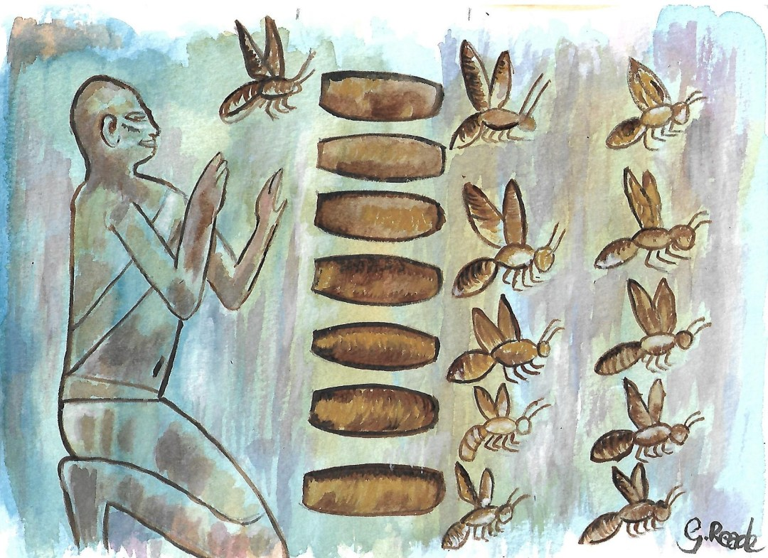 andyreade.com - Introduction to Beekeeping - History - Egyptians