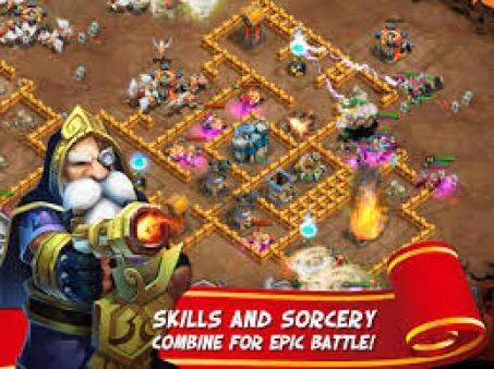 castle clash for pc