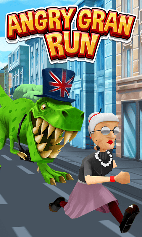 Download Angry Gran Run for PC/ Angry Gran Run on PC