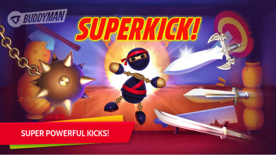 Download Buddyman Ninja Kick 2 for PC/ Buddyman Ninja Kick 2 on PC