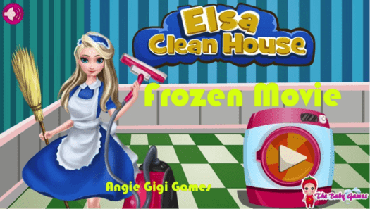 Download Elsa Clean House for PC/Elsa Clean House on PC