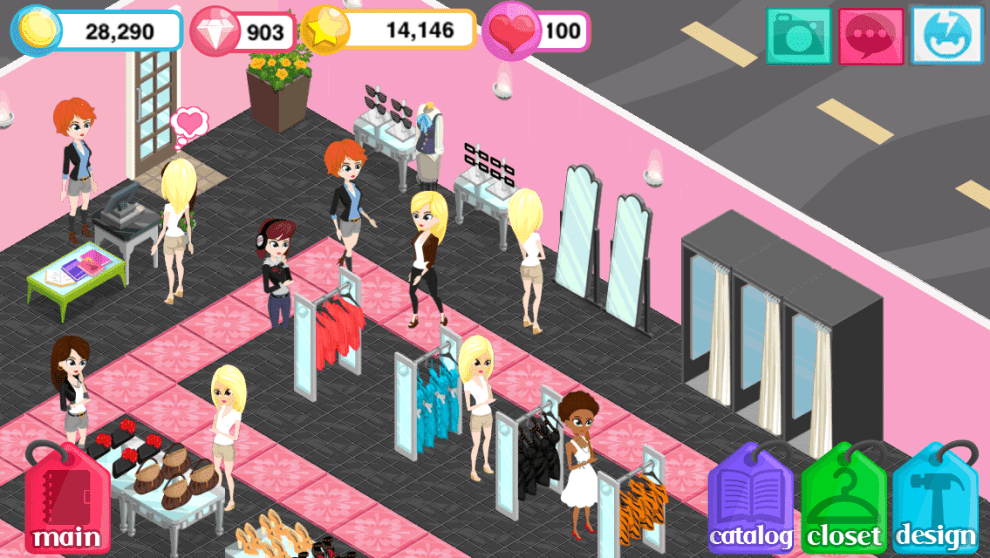 Download Fashion Story Daring Red for PC/Fashion Story Daring Red for PC