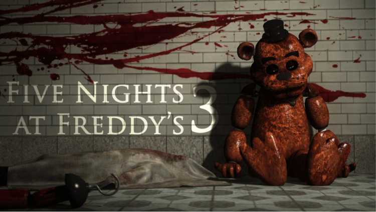 Five Nights at Freddy's 3 for pc / Five Nights at Freddy's 3 on pc