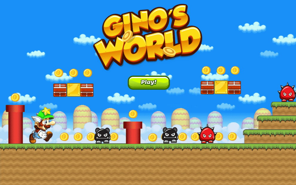 Download Gino's World for PC/Gino's World on PC