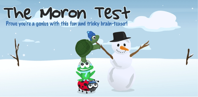 Download The Moron Test for PC/The Moron Test on PC