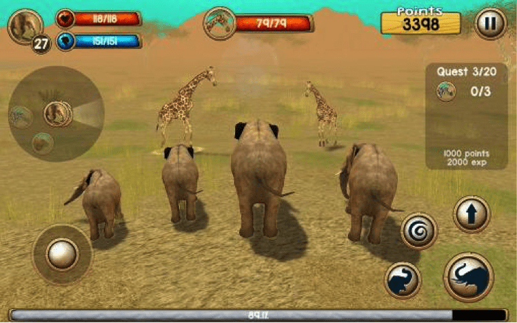 Download Wild Elephant Sim 3D for PC/Wild Elephant Sim 3D on PC