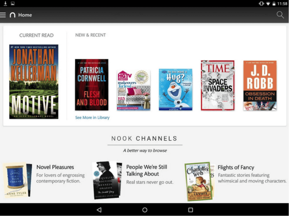 Download Nook for Android for PC/Nook for Android on PC
