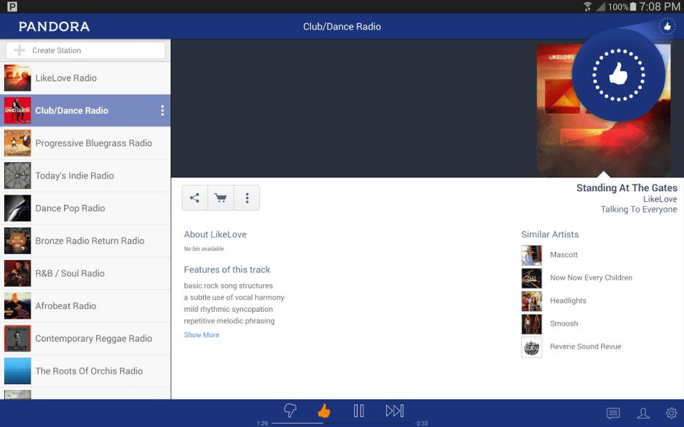 Download Pandora Radio Android App for PC / Pandora Radio on PC