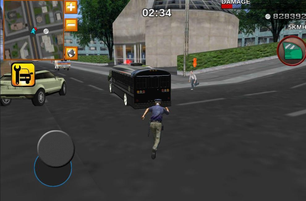 Police Bus Prison Transport