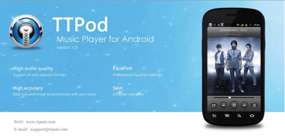 Download TTPod for PC/TTPod on PC