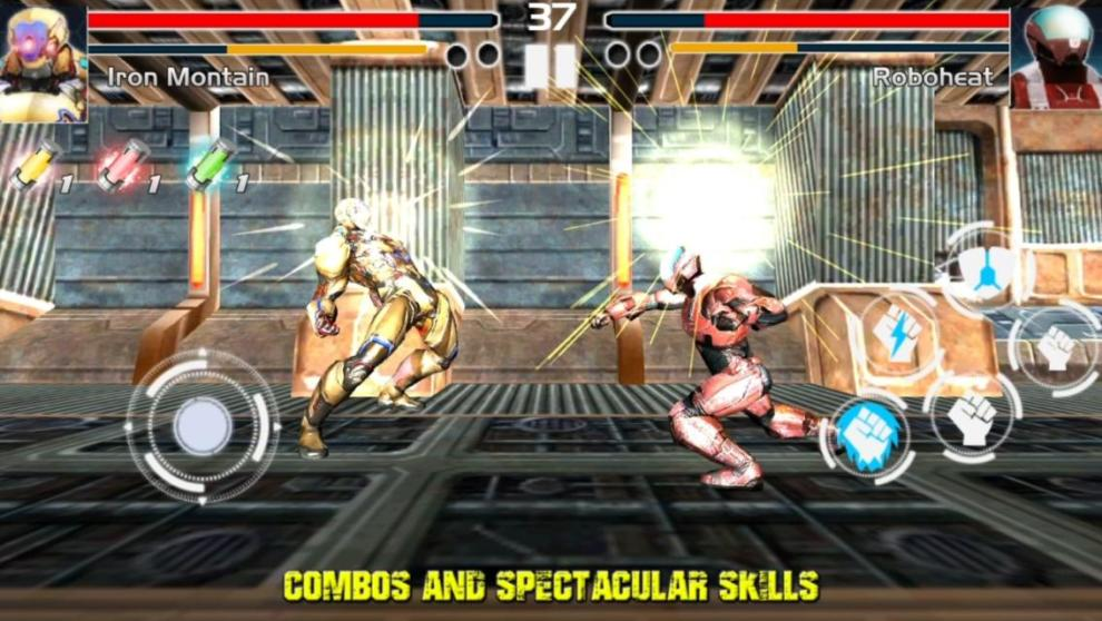 Download Fighting Game Steel Avengers Android App for PC/ Fighting Game Steel Avengers on PC