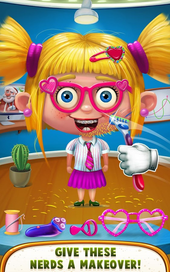 Download Hairy Nerds - Crazy Makeover Android App for PC/ Hairy Nerds - Crazy Makeover on PC