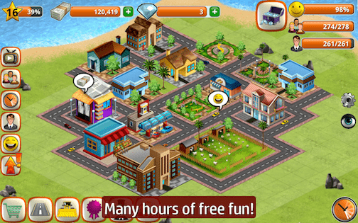 Download Village City Island Sim Android App for PC/Village City Island Sim on PC