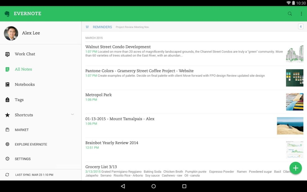 Download Evernote Android APK