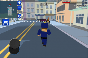 Blocky Cop Craft Running Thief Android App for PC/Blocky Cop Craft Running Thief on PC