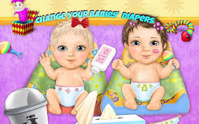 Sweet Baby Girl Twin Sisters Android App for PC/Sweet Baby Girl Twin Sisters on PC