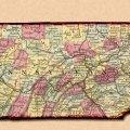 Andy s antique maps pennsylvania