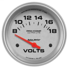 Autometer Sport Comp Wiring Diagram 2001 Mustang V6 Radio How To Install An Auto Meter Pro-comp Ultra-lite Voltmeter Gauge – Readingrat.net