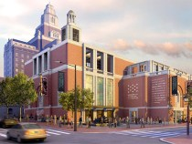 Artist's rendering from the Museum's website, replete with faux cupola.
