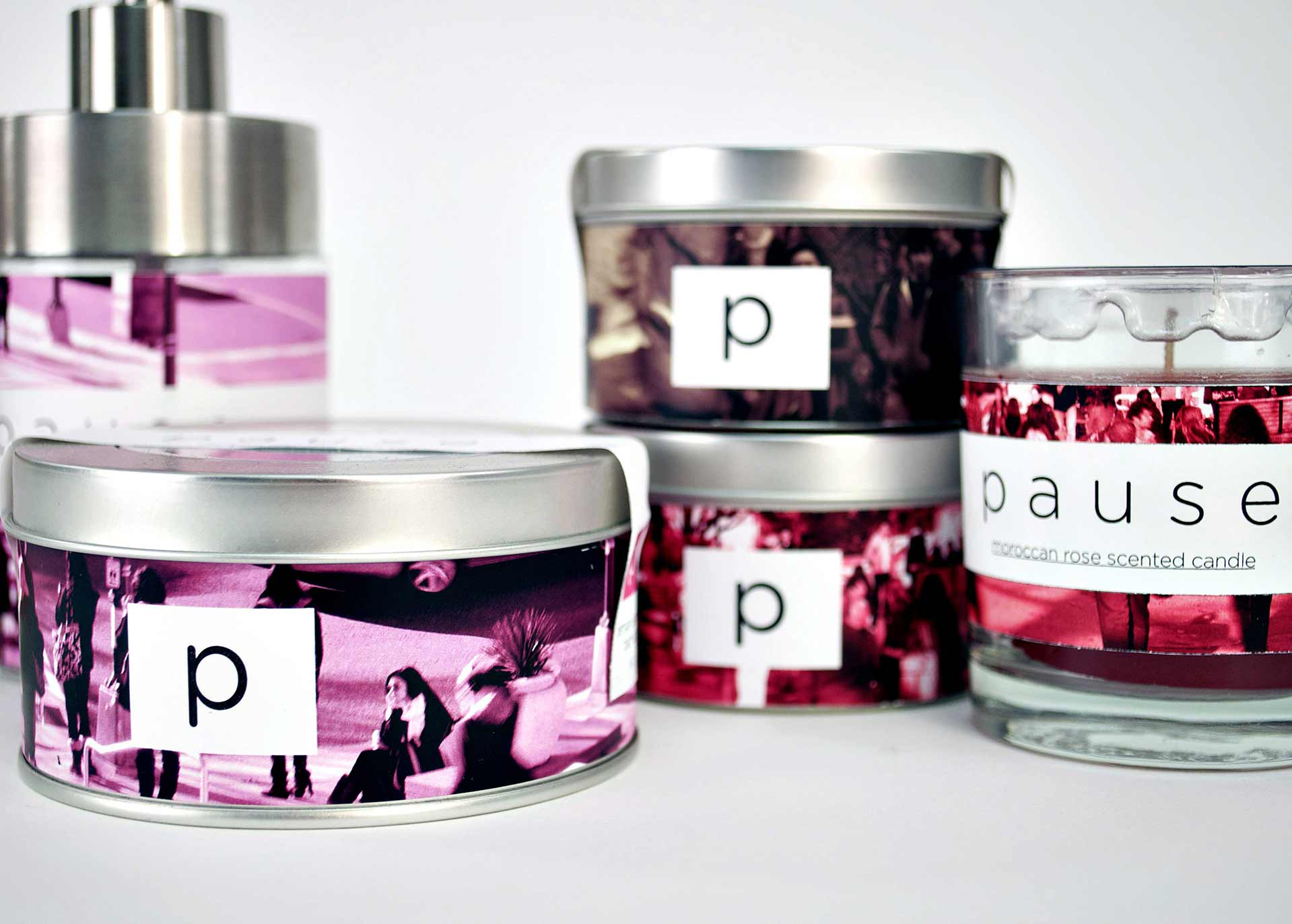 Pause Bath and Beauty Package Design